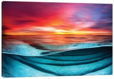 Colour Blur Hyams Beach Canvas Art Print