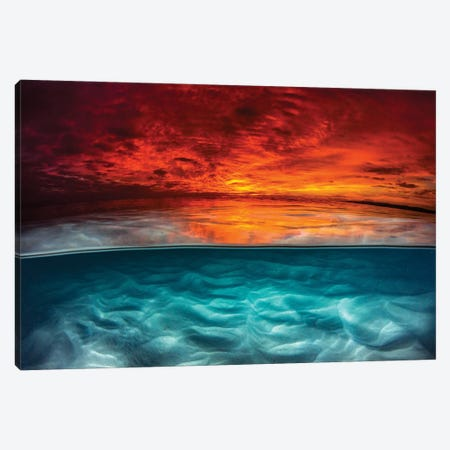Fire & Ice Canvas Print #RNS21} by Jordan Robins Canvas Print