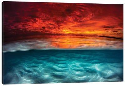 Fire & Ice Canvas Art Print