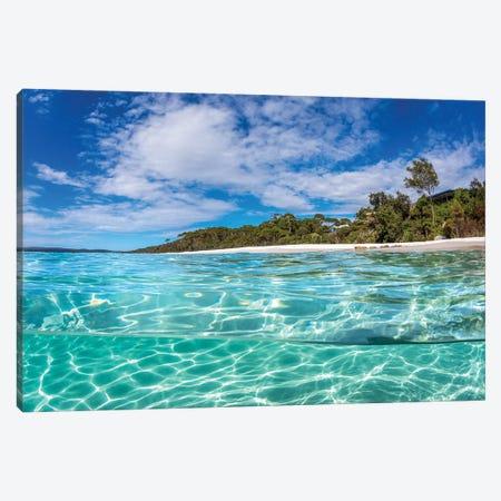 Hyams Beach Perfection Canvas Print #RNS35} by Jordan Robins Canvas Print