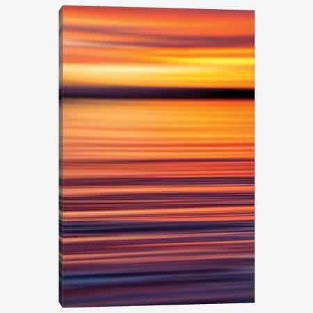 Sunset Gradient Vertical Canvas Print #RNS60} by Jordan Robins Canvas Art Print