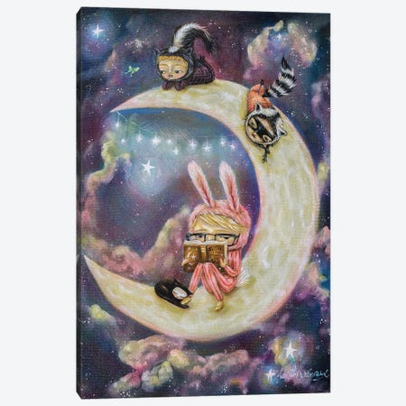Galaxies of Imagination Canvas Print #RNX113} by Heather Renaux Canvas Artwork