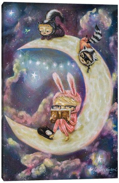 Galaxies of Imagination Canvas Art Print
