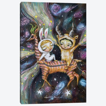 Making Stars Canvas Print #RNX119} by Heather Renaux Canvas Wall Art