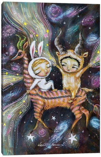 Making Stars Canvas Art Print