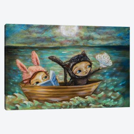 Moonlit Adventures Canvas Print #RNX120} by Heather Renaux Canvas Art Print