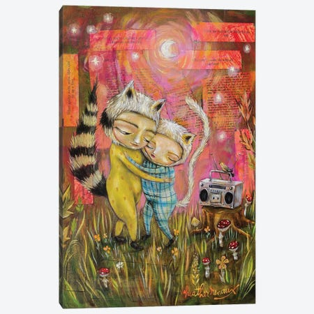 Slow Dancing Canvas Print #RNX122} by Heather Renaux Canvas Art Print