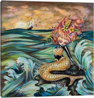 Stranded Canvas Art Print