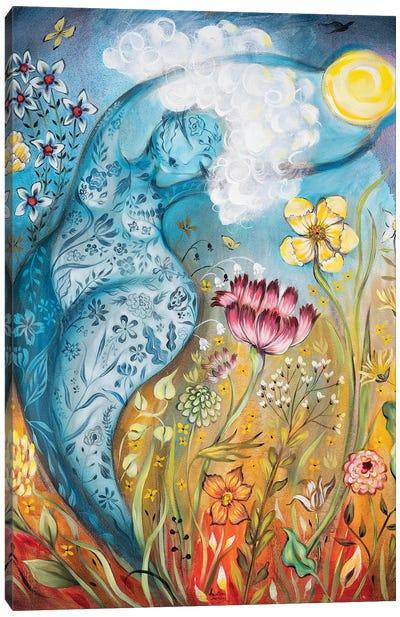 Cloud Mama Canvas Art Print