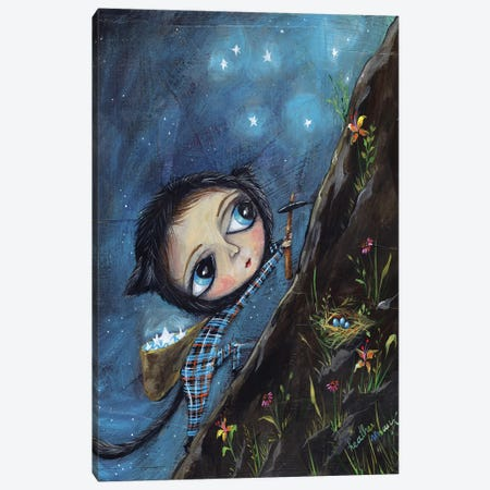 Catching Stars Canvas Print #RNX14} by Heather Renaux Canvas Art
