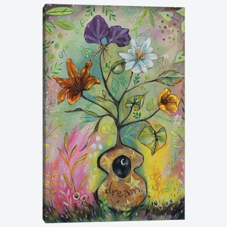 Dream Canvas Print #RNX17} by Heather Renaux Canvas Wall Art