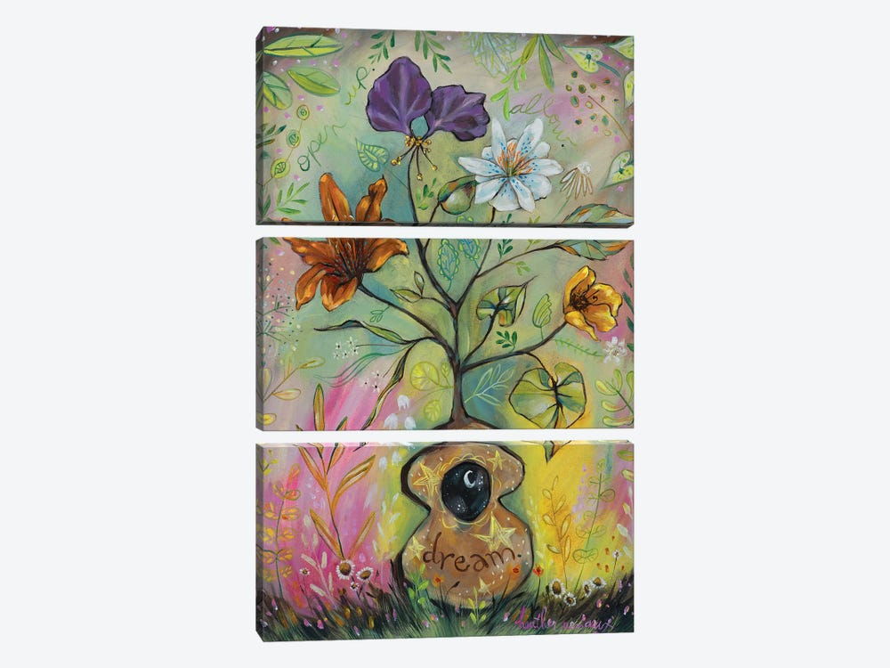 Dream by Heather Renaux 3-piece Canvas Art