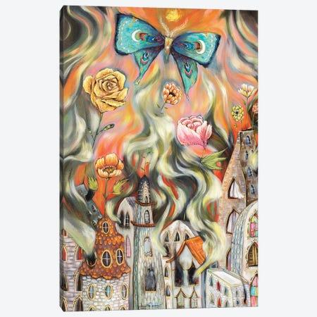 En Fuego Canvas Print #RNX18} by Heather Renaux Canvas Art Print