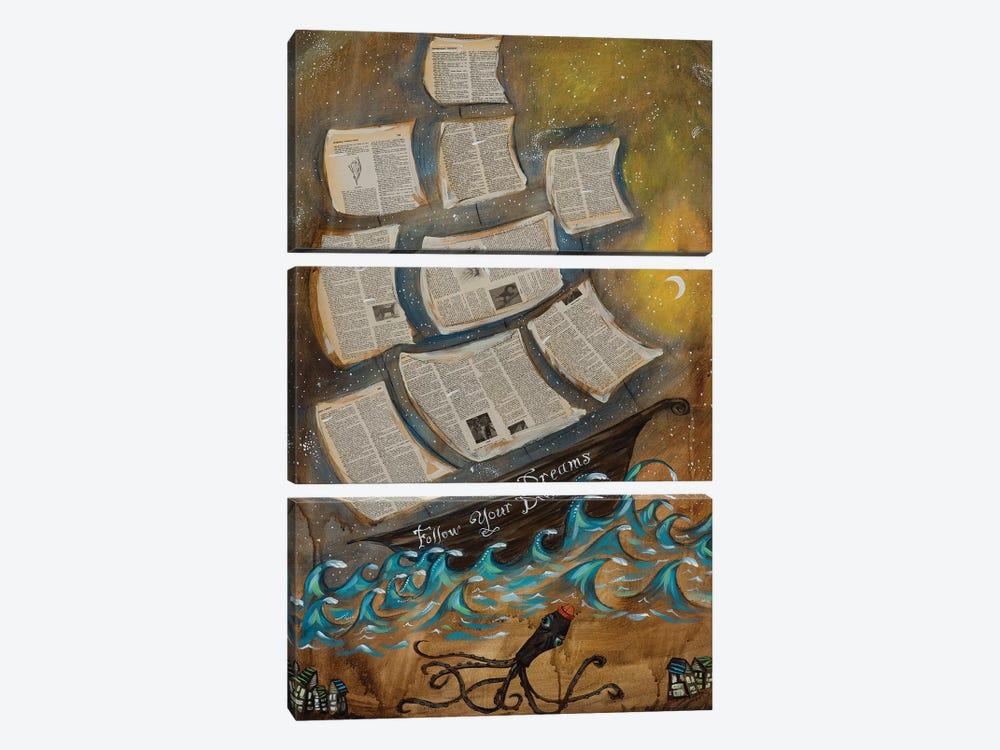 Follow Your Dreams by Heather Renaux 3-piece Art Print