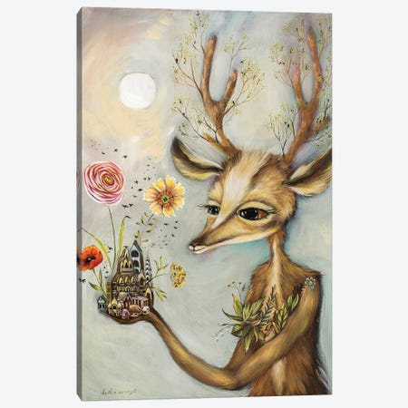 Foreign Lands Canvas Print #RNX22} by Heather Renaux Canvas Artwork