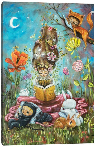 Forest Magic Canvas Art Print