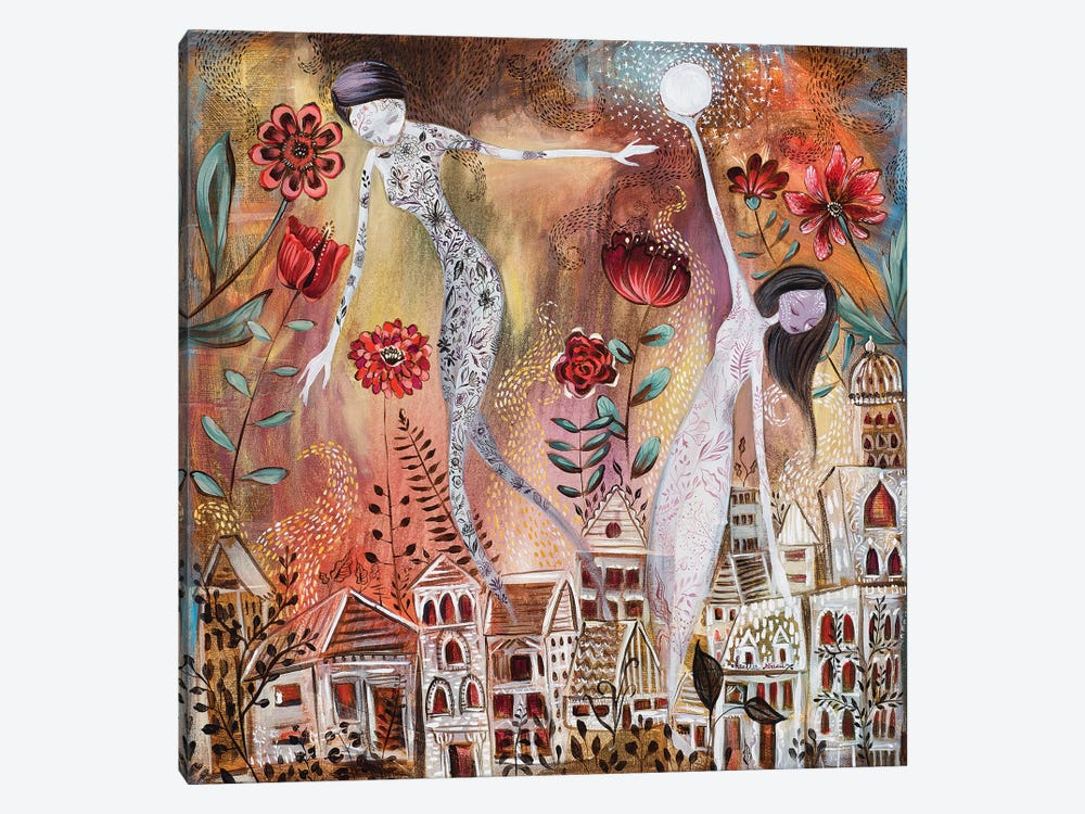 Hanging The Moon by Heather Renaux 1-piece Canvas Print