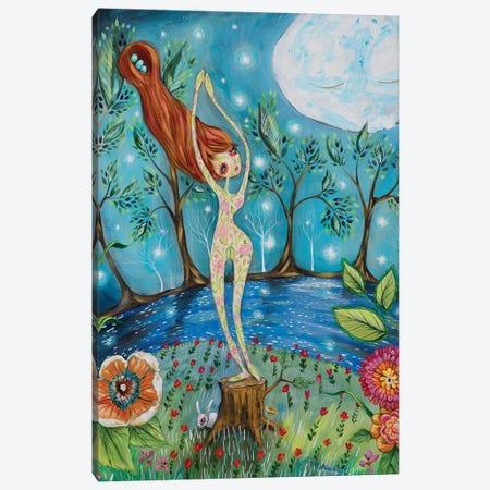 La Luna Canvas Print #RNX34} by Heather Renaux Canvas Wall Art