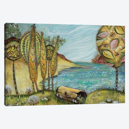 Lake Harriet Canvas Print #RNX35} by Heather Renaux Canvas Artwork