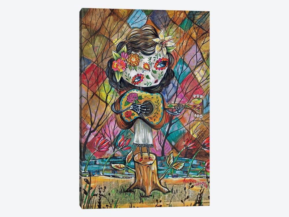 Musica Del Corazon by Heather Renaux 1-piece Canvas Art