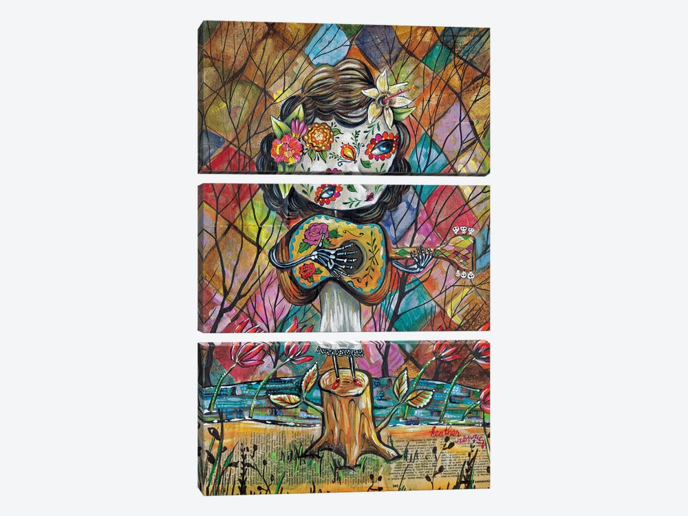 Musica Del Corazon by Heather Renaux 3-piece Canvas Artwork
