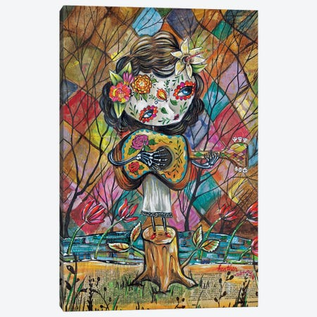 Musica Del Corazon Canvas Print #RNX46} by Heather Renaux Art Print