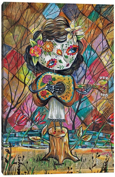 Musica Del Corazon Canvas Art Print