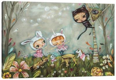 Night Ballet Canvas Art Print