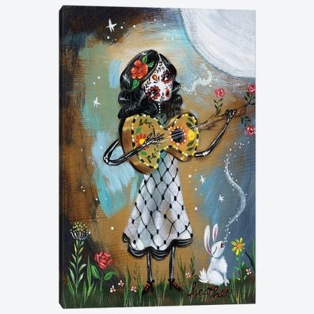 Night Serenade I Canvas Print #RNX49} by Heather Renaux Canvas Wall Art