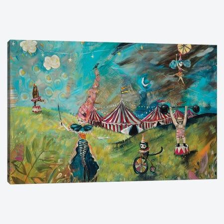 Night Symposium Canvas Print #RNX50} by Heather Renaux Canvas Art Print