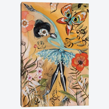 Other World Ballerina Canvas Print #RNX51} by Heather Renaux Art Print