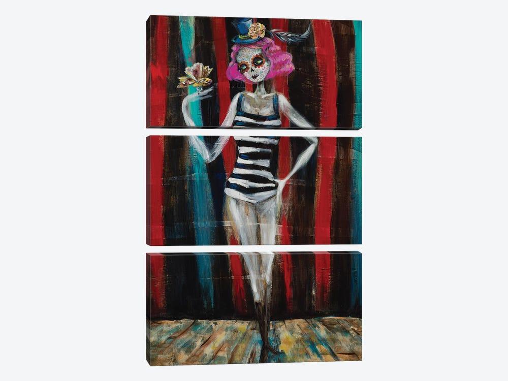 Pinkie by Heather Renaux 3-piece Canvas Wall Art