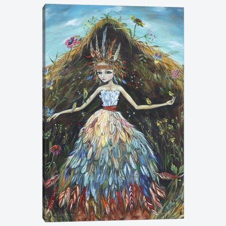 Prairie Canvas Print #RNX57} by Heather Renaux Canvas Wall Art