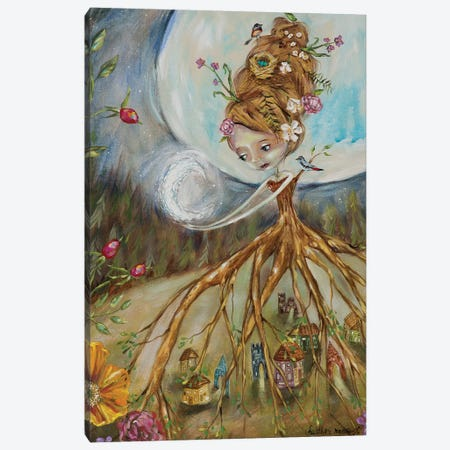 Protector Canvas Print #RNX59} by Heather Renaux Canvas Print