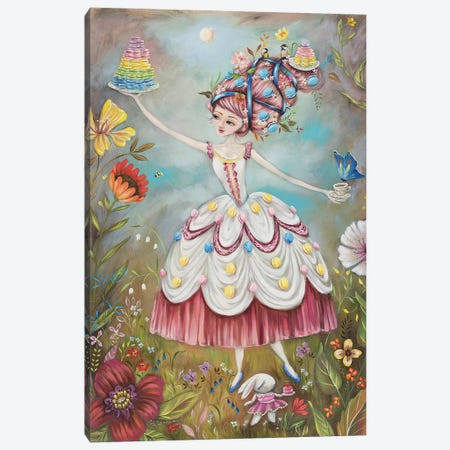Queen Of Macarons Canvas Print #RNX61} by Heather Renaux Canvas Art