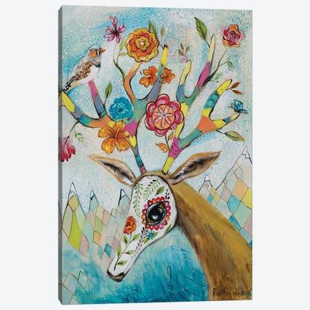 Rocky Mountain Love Canvas Print #RNX62} by Heather Renaux Canvas Artwork