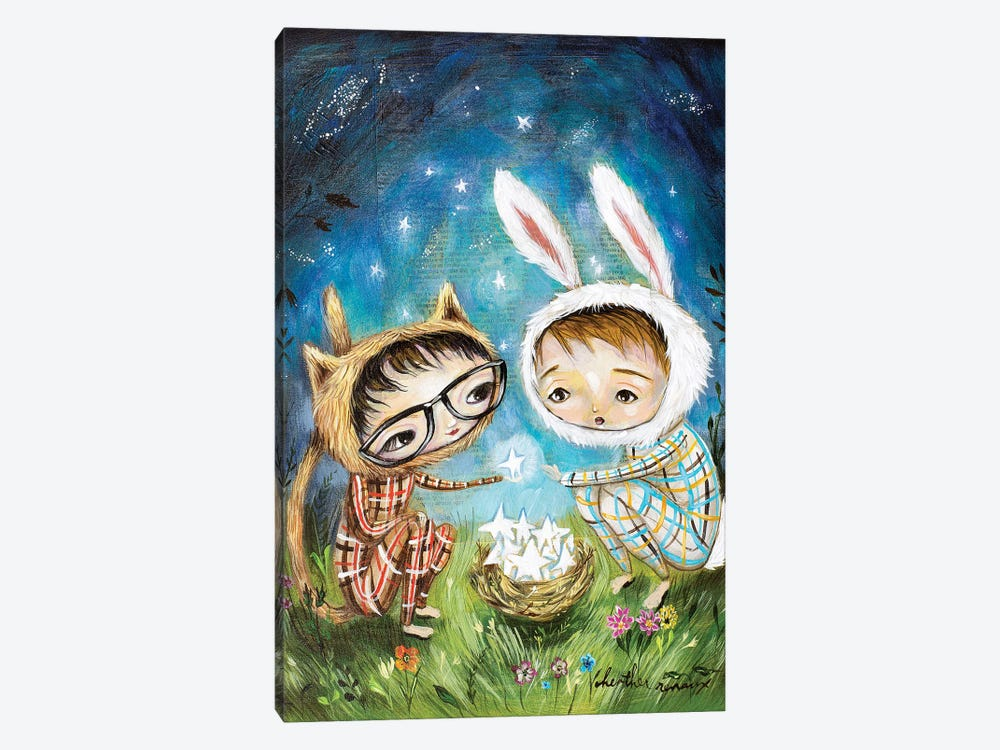 Sharing Stars by Heather Renaux 1-piece Canvas Art Print