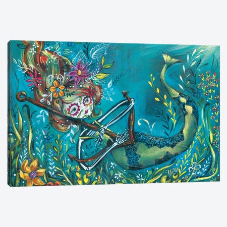 Sinking Canvas Print #RNX66} by Heather Renaux Canvas Art Print