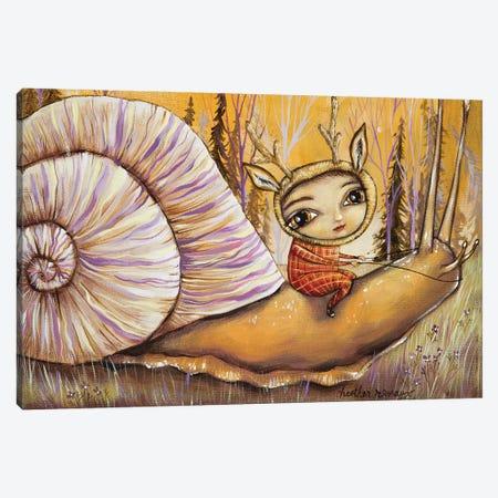 Slow Ride Canvas Print #RNX67} by Heather Renaux Canvas Print