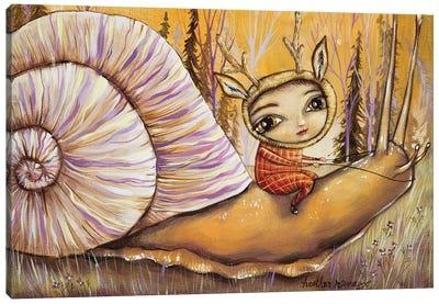 Slow Ride Canvas Art Print