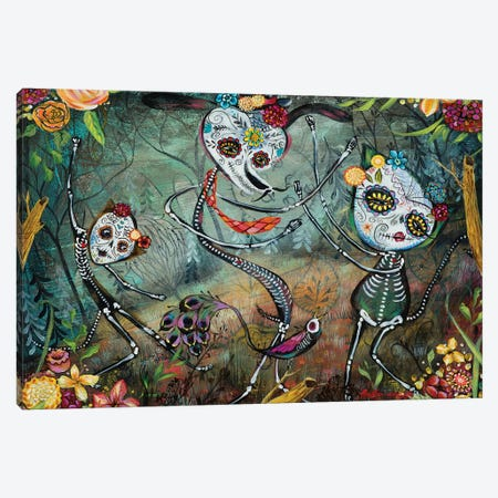 Spectral Dancers Canvas Print #RNX69} by Heather Renaux Canvas Artwork