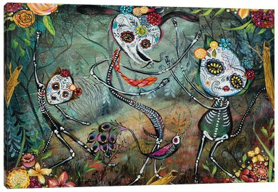 Spectral Dancers Canvas Art Print