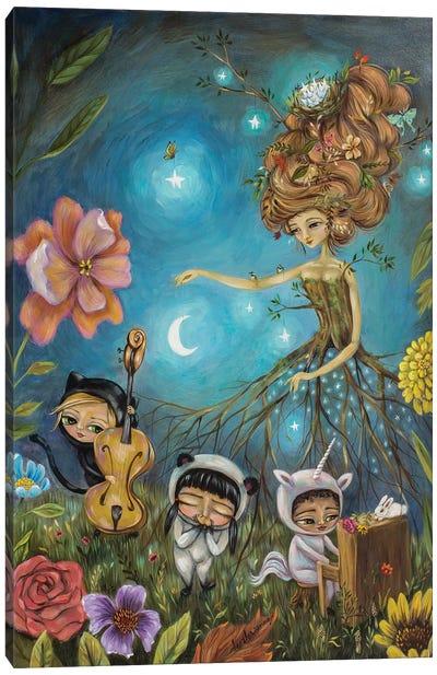 Band Of Stars Canvas Art Print