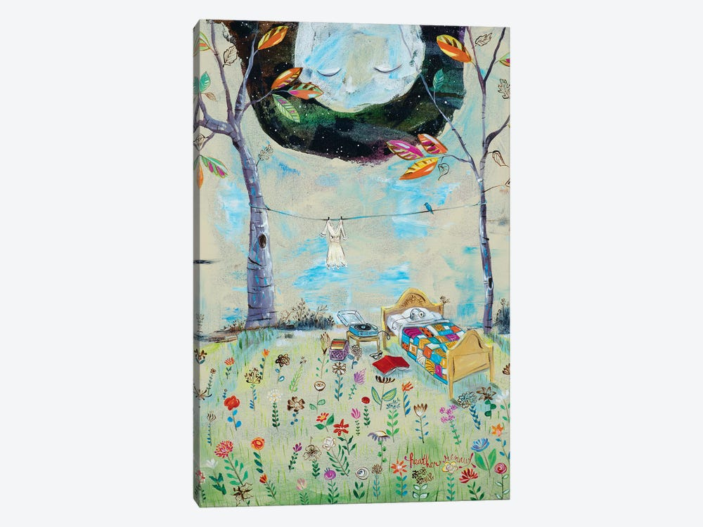 The Bedroom by Heather Renaux 1-piece Art Print