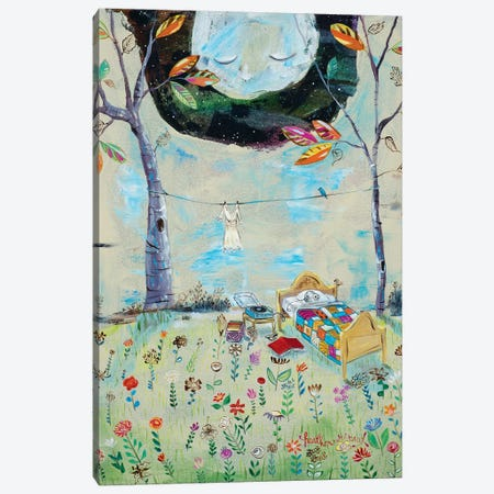 The Bedroom Canvas Print #RNX81} by Heather Renaux Canvas Artwork