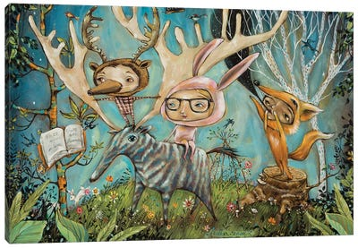 The Dreamers Canvas Art Print