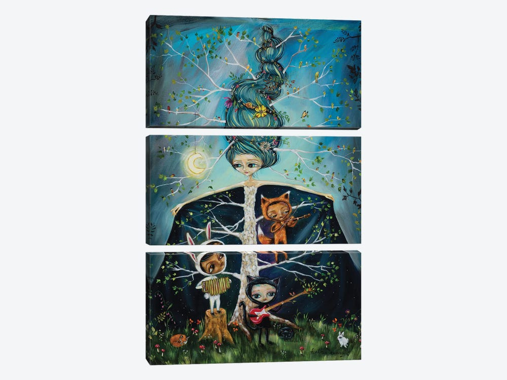 The Ghost Tree Band by Heather Renaux 3-piece Canvas Print