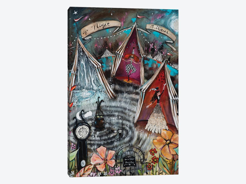 The Night Circus by Heather Renaux 1-piece Canvas Art Print