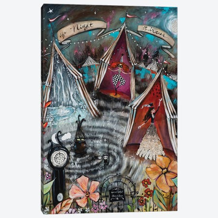 The Night Circus Canvas Print #RNX90} by Heather Renaux Canvas Print