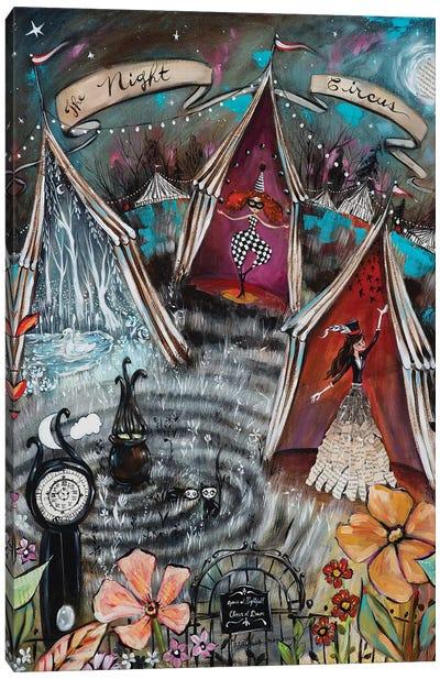 The Night Circus Canvas Art Print